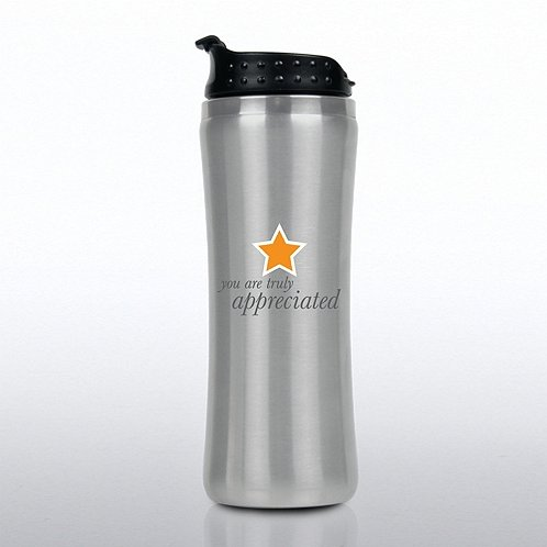 Truly Appreciated Elite Stainless Steel Travel Tumbler