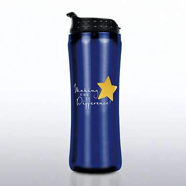 Elite Stainless Steel Travel Mug - Making the Difference
