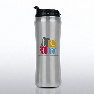Elite Stainless Steel Travel Tumbler - TEAM Theme