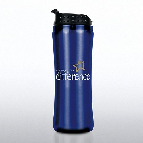 You Make the Difference Elite Stainless Steel Travel Mug