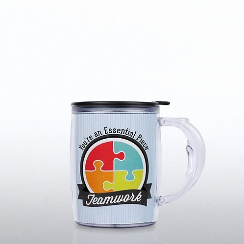 Teamwork: You're an Essential Piece Studio Mug