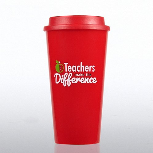 Teachers Make the Difference Value Travel Mug