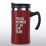 Big Sip Stainless Steel Travel Mug - Proud Member of an Epic