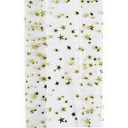 Cellophane Bag - Gold Star - Large