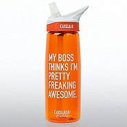 Camelbak Eddy Water Bottle - My Boss Thinks...