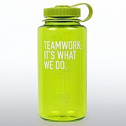 Nalgene Wide Mouth Water Bottle - Teamwork: It's What We Do.