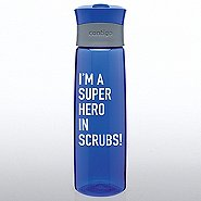 Contigo Water Bottle - I'm a Superhero in Scrubs