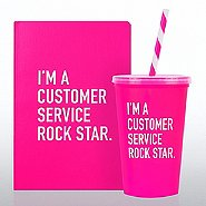 Neon Gift Set - Customer Service Rock Star