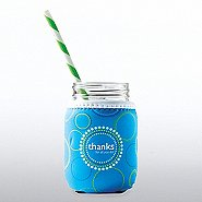 Charming Glass Mason Jar - Thanks For All You Do