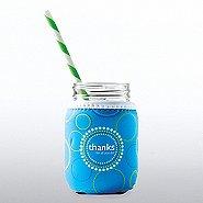 Charming Glass Mason Jar - Thanks For All You Do
