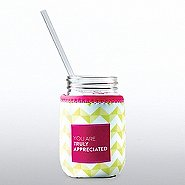 Charming Glass Mason Jar - You Are Truly Appreciated