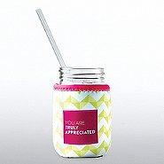 Charming Glass Mason Jar - You Are Truly Appreciated