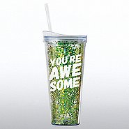 Confetti Tumbler - You're Awesome