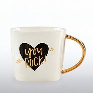 Luxe Ceramic Mug - You Rock