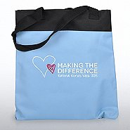 Value Canvas Tote Bag - Making the Difference Nurses Wk 2015
