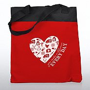 Value Canvas Tote Bag -You Make a Difference Everyday