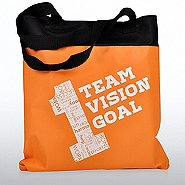 Value Canvas Tote Bag - 1 Team, 1 Vision, 1 Goal