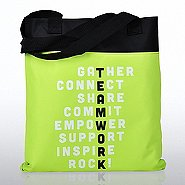 Value Canvas Tote Bag - TEAMWORK - Lime