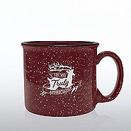 Holiday Campfire Mug - You Are Truly Appreciated (Cranberry)
