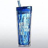 Vibrant Prism Tumbler - Above and Beyond: It's What I Do