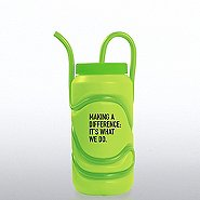 Crazy Straw Water Bottle-Making a Difference:It's What We Do