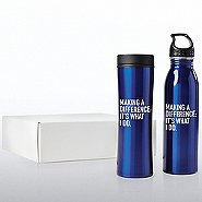 Value Drinkware Gift Set-Making A Difference: It's What I Do