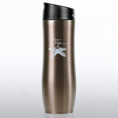 Vacuum-Sealed Travel Mug - Starfish: Making a Difference