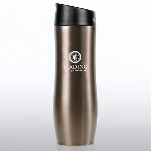 Leading by Example Vacuum-Sealed Travel Mug