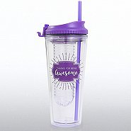 H2O Fruit Infuser Tumbler - Thanks For Being Awesome