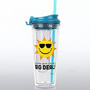 H2O Fruit Infuser Tumbler - Sun: You're Kind of a Big Deal