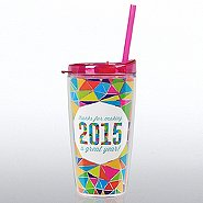 Holiday Tritan Tumbler: Thanks for Making 2015 a Great Year!