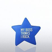 Squeezable Praise - My Boss Thinks I Rock