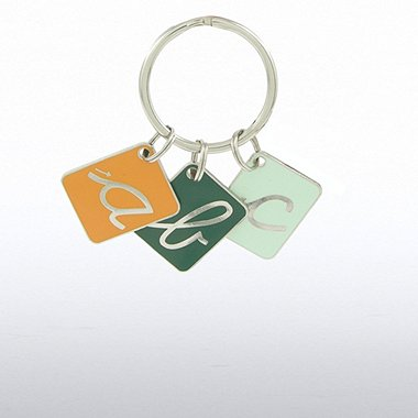 Simply Charming Key Chain - ABC