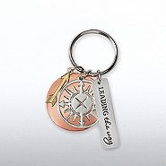 Charming Copper Keychain - Compass: Leading the Way