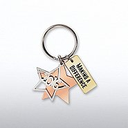 Charming Copper Keychain -  2016 Making a Difference