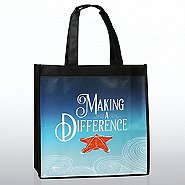 Stylin' Shopper Tote -Seascape Starfish: Making a Difference