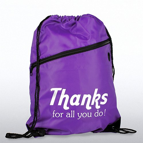 Thanks for all you do positive praise slingpack bag at Thanks for all you do gifts