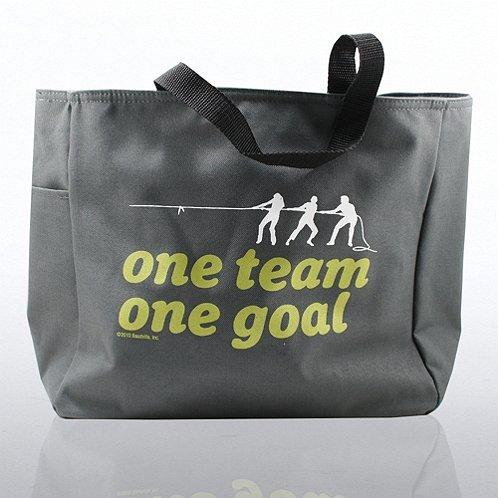 One Team, One Goal Tote Bag