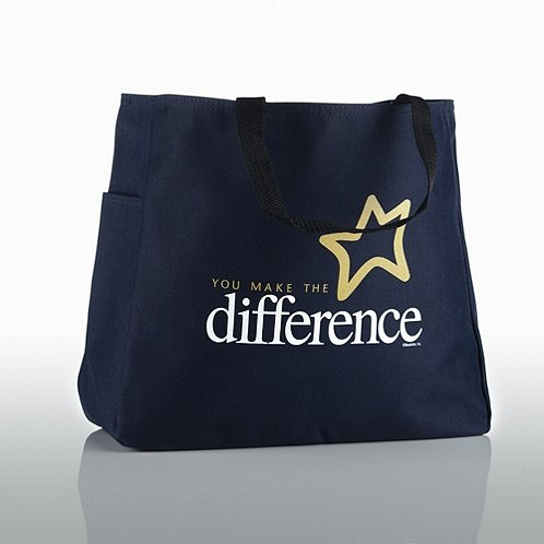 You Make the Difference Tote Bag