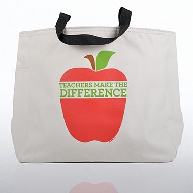 Tote Bag - Teachers Make the Difference - Big Apple