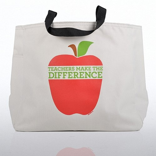 Teachers Make the Difference Big Apple Tote Bag