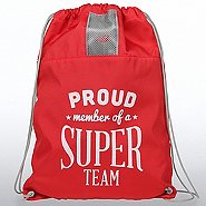 New Balance Drawstring Bag - Proud Member of A Super Team