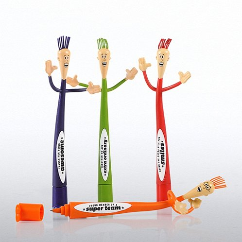Gratitude with Attitude Bendy Pens