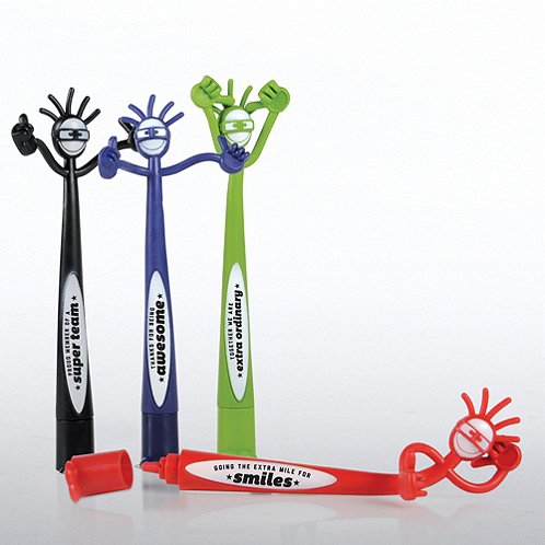 Gratitude with Attitude Thumbs Up Bendy Pens