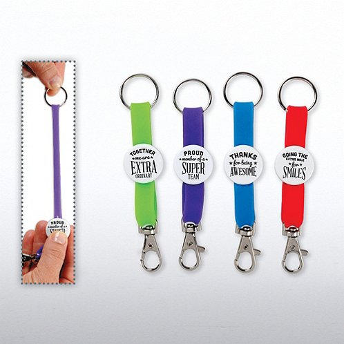 Gratitude with Attitude Carabiner Key Chains