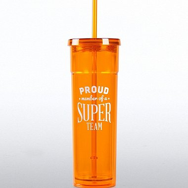 Bright Tumbler - Proud Member of a Super Team