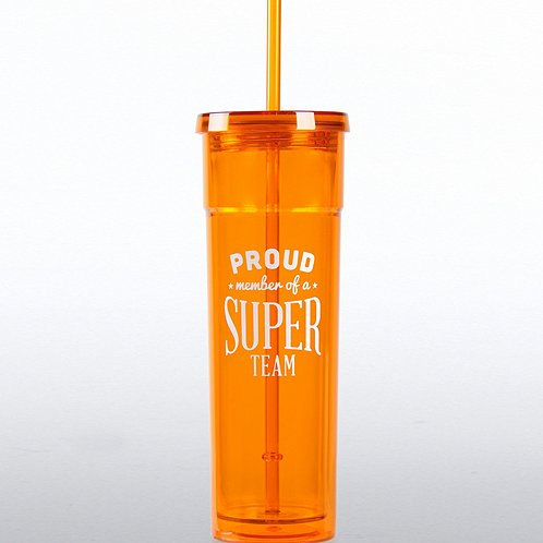 Bright Tumbler: Proud Member of a Super Team