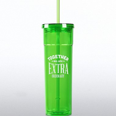 Bright Tumbler - Together We are Extra Ordinary