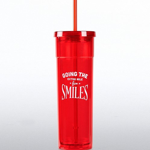 Going the Extra Mile for Smiles Bright Tumbler