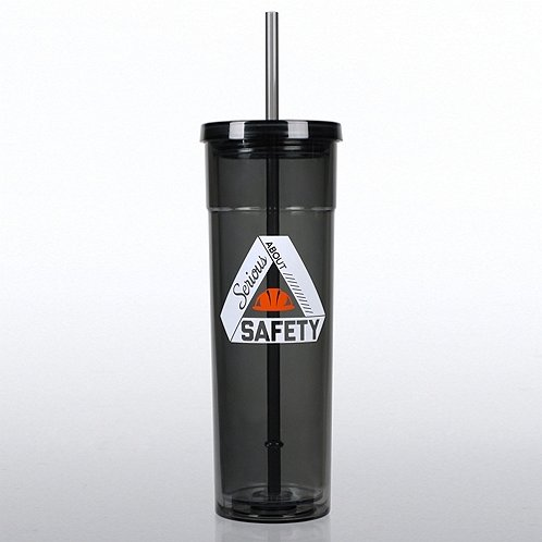Serious About Safety Bright Tumbler